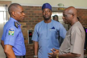 Governor Makinde Meets Police IG Over Oyo LG Crisis, Amotekun