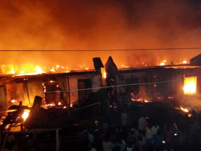Akesan Fire Incident : Governor Makinde Commiserates With Victims, Calls For Calm