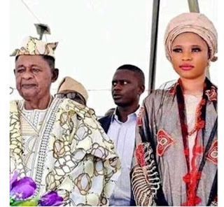 At 81, Alaafin of Oyo, Welcomes A Son With His Youngest Wife, Damilola