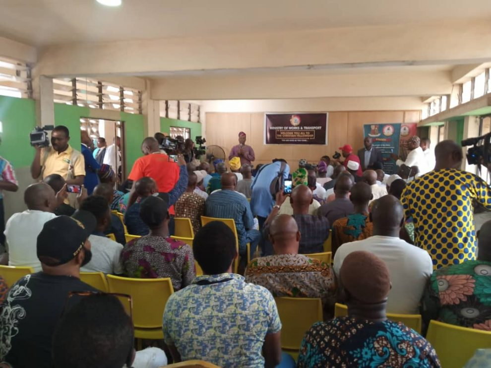Auxiliary head disciplinary committees as Oyo govt inaugurates motor park managers