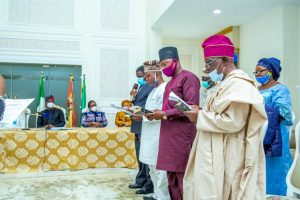 Governor Makinde Swears-In OYSIEC Board Members Ahead Local Government Areas' Elections